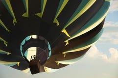Härlig ballong för varm luft Arkivfoton