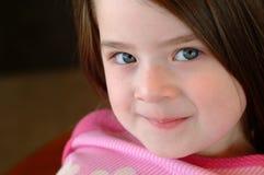 härlig barnflicka Royaltyfri Bild