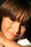 härlig barnlatinamerikan Arkivbilder