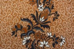 Härlig Batikmodell Arkivfoton