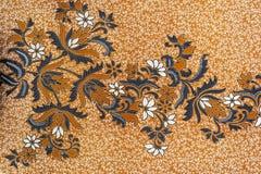 Härlig Batikmodell Arkivbild