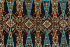 Härlig Batikmodell Fotografering för Bildbyråer