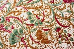 Härlig Batikmodell Royaltyfri Foto