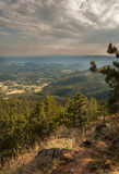 Härlig berglandskape arkivbilder