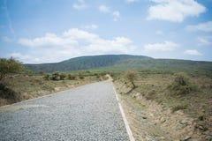 Härlig bergväg Royaltyfri Bild