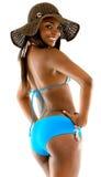 härlig bikiniflicka Royaltyfria Bilder