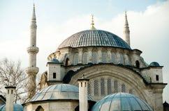 Härlig bild av en av Istanbul moskéer Arkivbild