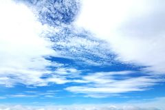 Härlig bild av himlen Arkivfoton