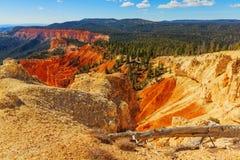 härlig bildanderock Bryce kanjonnationalpark Utah USA Arkivfoton