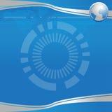 Härlig blå affär för bakgrundbakgrund Arkivbild