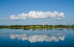 Härlig blå himmel och moln Royaltyfri Bild