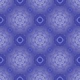 Härlig blå modell på en blue. Seamless vektor illustrationer