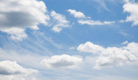 härlig blå sky Royaltyfria Bilder