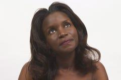 härlig black Royaltyfria Bilder