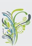 härlig blom- grön soft för abstrakt bakgrund Arkivfoton