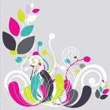 härlig blom- grön soft för abstrakt bakgrund Royaltyfria Foton