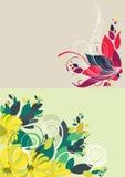 härlig blom- röd soft för abstrakt bakgrund Royaltyfri Bild