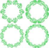 härlig blom- ramillustrationvektor Fotografering för Bildbyråer