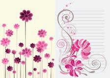 härlig blom- rosa soft för abstrakt bakgrund Royaltyfri Foto