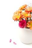 Härlig blommabukett arkivfoton