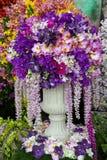 Härlig blommagarnering Arkivbild