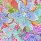 härlig blommamix Arkivbilder