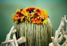 härlig blommapresentation royaltyfria foton