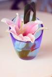 härlig blommavase Royaltyfria Bilder