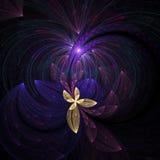 härlig blommayellow Fotografering för Bildbyråer