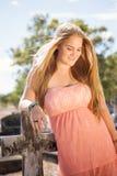Härlig blond flicka Royaltyfri Foto