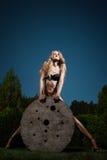 Härlig Blondie flicka Royaltyfria Foton
