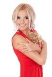 Härlig blondin Royaltyfria Foton