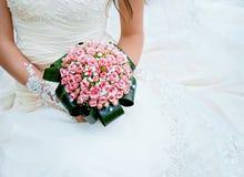 Härlig bröllopbukett. Arkivbilder