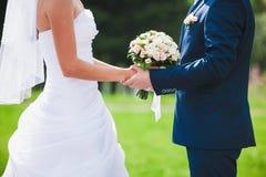 Härlig bröllopceremoni Arkivbilder