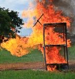 Härlig brand Arkivfoto
