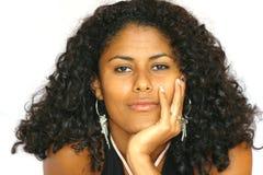 härlig brasiliansk flicka arkivfoto