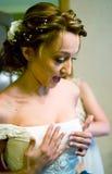 härlig brud Royaltyfri Foto