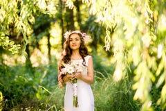 härlig brud Royaltyfri Fotografi