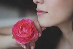 härlig brudtärna Royaltyfria Bilder