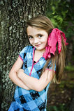 härlig brunettflicka Royaltyfri Bild