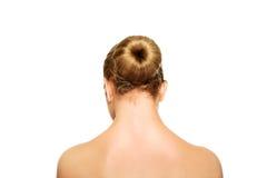 Härlig brunnsortkvinna Arkivfoto