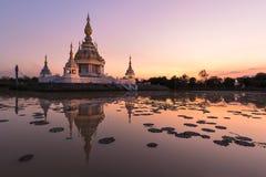 Härlig buddistisk pagod Royaltyfria Bilder