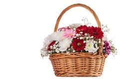 Härlig bukett av ljusa blommor Fotografering för Bildbyråer