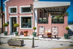 härlig cafe Royaltyfria Bilder
