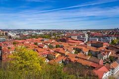 Härlig cityscape av Göteborg, Sverige Arkivbild