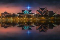 Härlig cityscape av Kuala Lumpur horisont Royaltyfri Foto