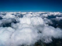 Härlig cloudscape i himlen Royaltyfria Bilder