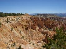 Härlig dag i Bryce Canyon Arkivfoton