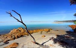 Härlig dag i Mallacoota Australien royaltyfri bild