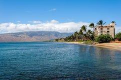 Härlig dag Maui Arkivfoto